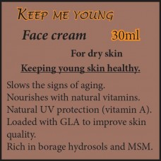 KEEP ME YOUNG Face Cream - For dry skin 30ml
