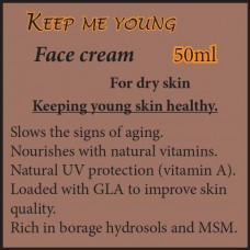 KEEP ME YOUNG Face Cream - For dry skin 50ml