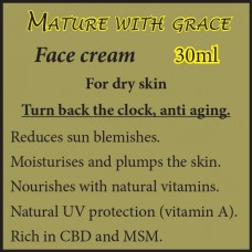 MATURE WITH GRACE Face Cream - For dry skin 30ml