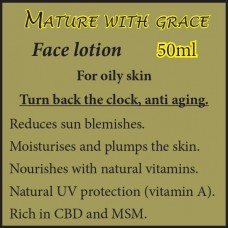 MATURE WITH GRACE Face Cream - For oily skin 50ml