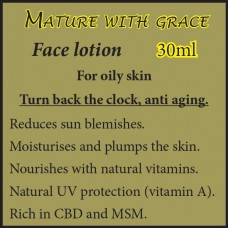 MATURE WITH GRACE Face Cream - For oily skin 30ml