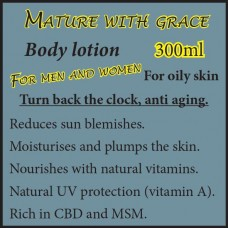 MATURE WITH GRACE BODY LOTION OILY SKIN 300ml